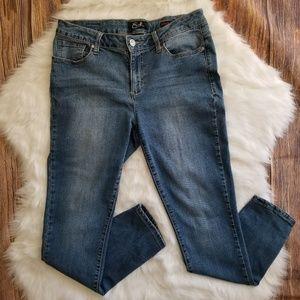 Earl Womens Cropped Skinny Ankle Jeans Sz 10